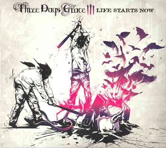 LIFE STARTS NOW BY THREE DAYS GRACE (CD)